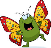 Butterfly Dancing Royalty Free Stock Photo