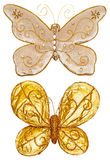Butterfly decorations Stock Images