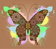 Butterfly design Stock Photography