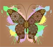 Butterfly design. A illustration royalty free illustration