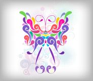 Butterfly design element Stock Photos