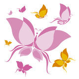 Butterfly design Stock Images