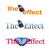The Butterfly Effect x 3 Royalty Free Stock Photos