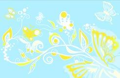 Butterfly fantasy. Creative illustration stock illustration