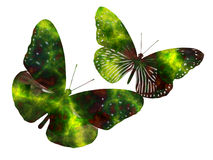 Butterfly fantasy Stock Photos