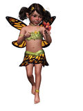 Butterfly fariy. 3d render of Butterfly fariy Royalty Free Stock Photo