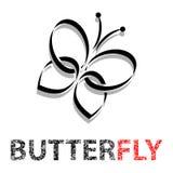 Butterfly in flight Royalty Free Stock Photo