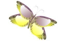Butterfly Fractal /Illustration Royalty Free Stock Photo