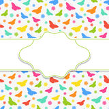 Butterfly frame Stock Photo