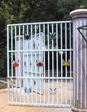 Butterfly gate Stock Photos
