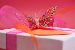 Butterfly Gift Stock Photos