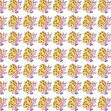 Butterfly, gift card or cloth, pattern, repeating pattern, Royalty Free Stock Photography
