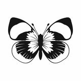 Butterfly icon, simple style Royalty Free Stock Image