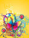 Butterfly illustration Royalty Free Stock Image