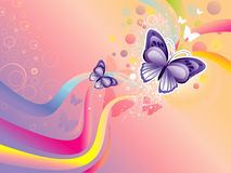 Butterfly illustration Stock Photos