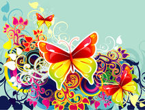 Butterfly illustration Stock Photo