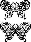 Butterfly Illustration. Decorative Butterfly Illustration- Includes both positive & negative versions Royalty Free Stock Image