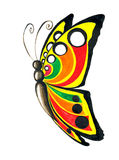 Butterfly illustration Stock Image