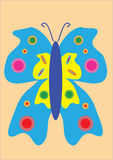 Butterfly illustration Stock Photos
