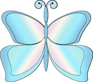 Butterfly. This image is a  illustration and can be scaled to any size without loss of resolution Royalty Free Stock Images
