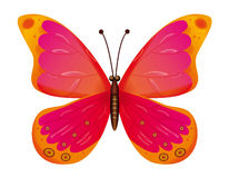 Butterfly isolated. EPS10 Royalty Free Stock Image