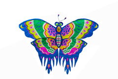 Butterfly kite Stock Images