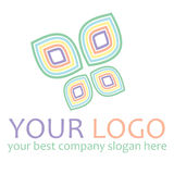 Butterfly Logo Stock Image