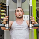 Butterfly machine fitness Stock Images