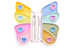 Butterfly make-up Stock Photography
