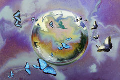 Butterfly Migration Stock Photography