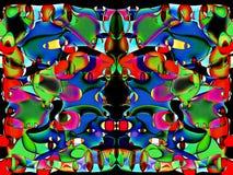 Butterfly mimics human Stock Image