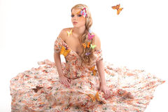 Butterfly Mistress Stock Photo