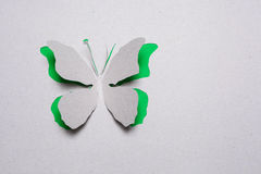 Butterfly origami Stock Photography