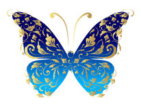 Butterfly, ornate for your design Stock Photos