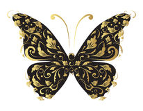Butterfly, ornate for your design Stock Photography
