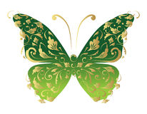 Butterfly, ornate for your design Royalty Free Stock Photo