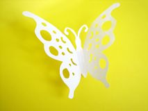 Butterfly from paper Stock Image