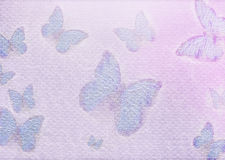 Butterfly paper background Royalty Free Stock Image