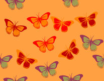 Butterfly Pattern Stock Photo