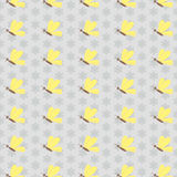 Butterfly pattern background Royalty Free Stock Images