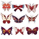 Butterfly pattern vector illustration