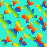 Butterfly Pattern - Illustration Stock Photography
