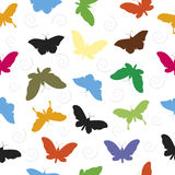 Butterfly Pattern Seamless  background. Stock Photos