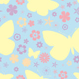 Butterfly pattern seamless royalty free stock image