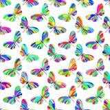 Butterfly pattern Stock Image