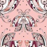 Butterfly pattern4. Butterfly, seamless pattern, vector illustration Vector Illustration