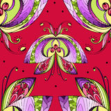 Butterfly pattern. Butterfly, seamless pattern, vector illustration Royalty Free Stock Photos
