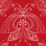 Butterfly pattern5. Butterfly, seamless pattern, vector illustration Royalty Free Stock Photo