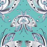 Butterfly pattern. Butterfly, seamless pattern, vector illustration Royalty Free Stock Image