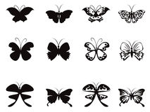 Butterfly pattern vector Royalty Free Stock Images